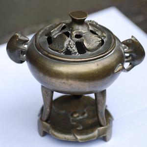 清铜香薰炉