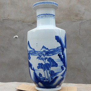 清早期棒槌瓶