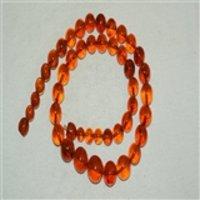 5130 极品琥珀圆珠项链