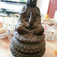 几件青铜佛像,大家帮忙看看这几件东西有没有收藏的必要