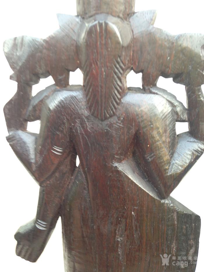印度老山檀香木雕佛