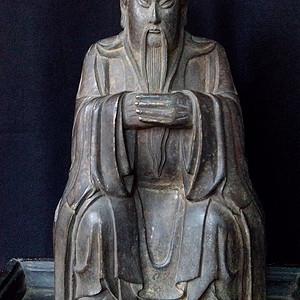 大明嘉靖款关公铜像 30号藏品
