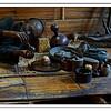 物化的历史——鸦片铜膏盒【外附鸦片木箱】