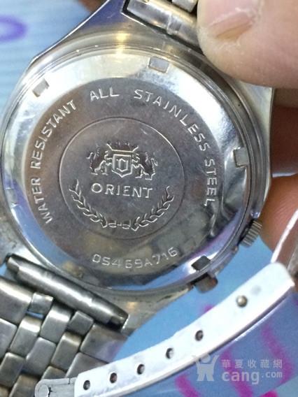 ORIENT21钻东方双狮手表图片