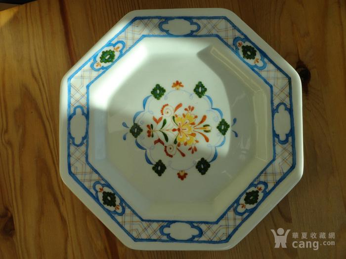 18世纪伊万里八角形瓷盘 图1