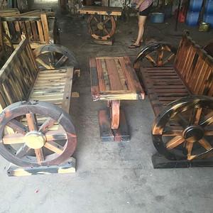 船木车轮造型三件套 做工麻烦