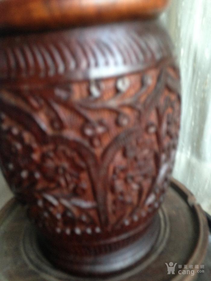 印度老山檀香木罐