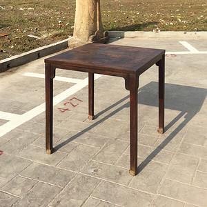 苏作清中期精品老红木棋桌