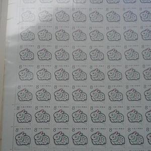 1987年错版兔子大版票