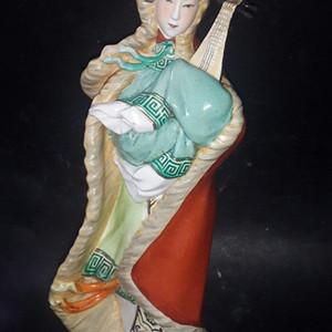 五十年代瓷塑林鸿禧大师作品