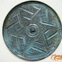 战国时期六山青铜镜