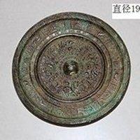 神兽铭文铜镜