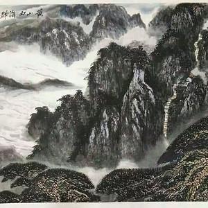 黄山西海群峰