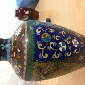 景泰蓝掐丝珐琅瓶