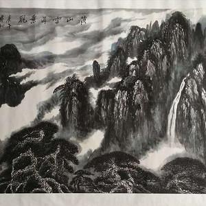 《黄山云海景观》