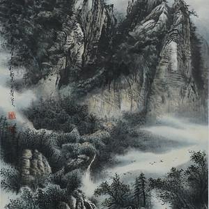 天来堂◆漓江派画家周顺生副院长★三尺芦笛山深
