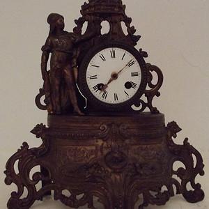 法国19世纪晚期壁炉座钟