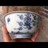 明中期青花碗