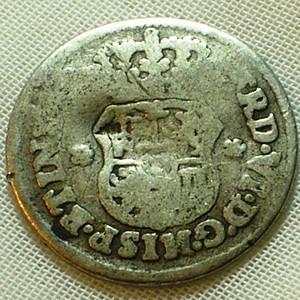 1754墨西哥复古纯银币 2reales 6.7668克