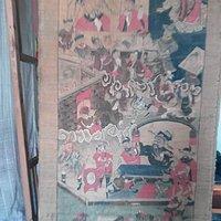 距今三百年的佛教古画