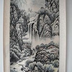 刘大中:山水画