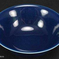 宣德蓝釉碗