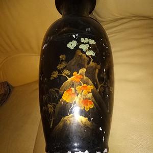 漆画大花瓶