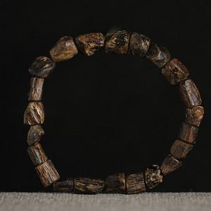 香缘木艺 绝美版珍藏 加里曼丹沉水随形手串