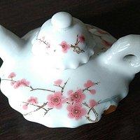 醴陵毛瓷茶壶
