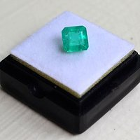祖母绿宝石戒面 纯天然哥伦比亚祖母绿1.88克拉