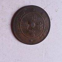 甘肃百文铜币