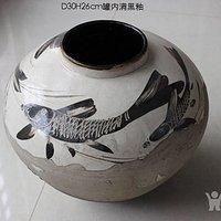 磁州窑鱼纹罐
