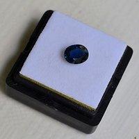蓝宝石 斯里兰卡纯天然椭圆型1.20克拉蓝宝石