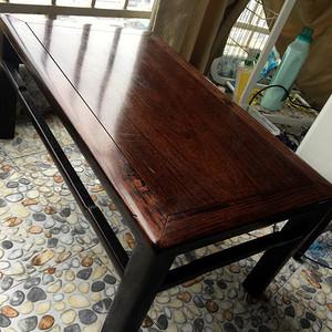 明清红木家具 黄花梨 花梨 老红木炕桌 大茶桌