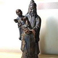 黄杨木雕造像