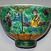 大明成化年造 东洋美人图 古茶碗