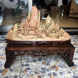 创汇时期的青田石雕摆件 保真 寿山石,古玩,石雕,