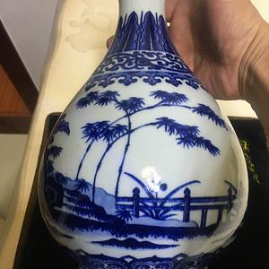 清中期玉壶春瓶