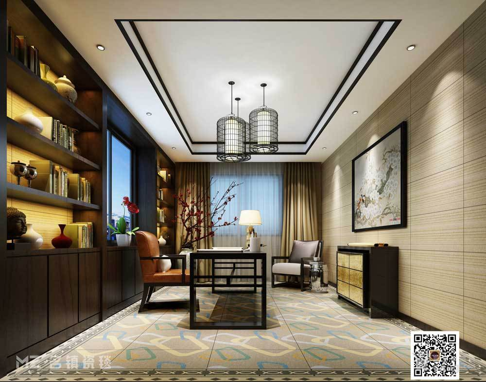 名镇瓷毯 客厅防滑木纹地砖 欧式现代厨卫釉面砖不漏水