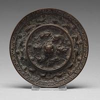 海兽葡萄纹铜镜