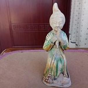 唐三彩陶俑
