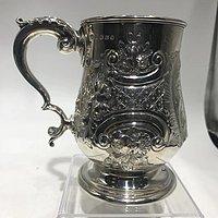 维多利亚时代的银器
