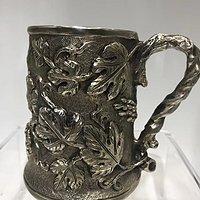 罕有19世纪意大利古董大银杯
