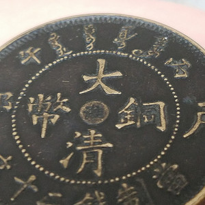 大清铜币淮字版