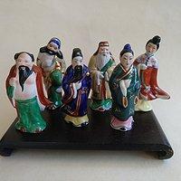 瓷塑八仙人物