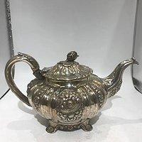 威廉四世古董银壶