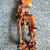 精美老黄杨木雕像2尊