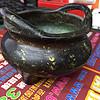 洒金小香炉口径7.5厘米