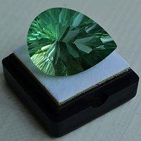 绿萤石 巴西纯天然绿萤石33.90克拉