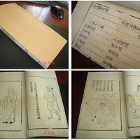 明代万历白绵纸版画绘图古籍珍本《人物》版刻极精美善本注录